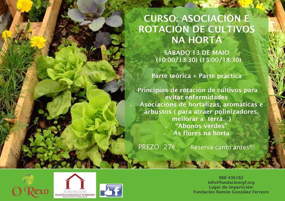 curso asociaci n y rotaci n de cultivos en la huerta On asociacion de cultivos en la huerta
