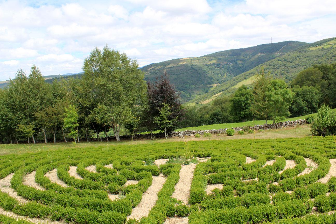 El jard n del laberinto galiciangarden for Jardin laberinto